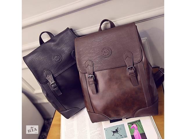 купить бу Мужской городской рюкзак в стиле ретро + ПОДАРОК в Днепре (Днепропетровск)
