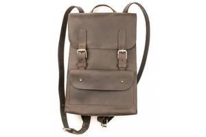 Мужской кожаный рюкзак Valenta 7 л