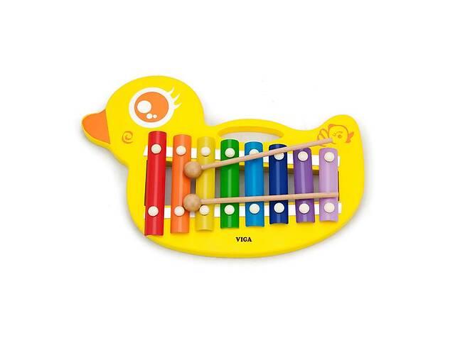 Музыкальная игрушка Viga Toys Ксилофон-утенок (59769)- объявление о продаже  в Киеве
