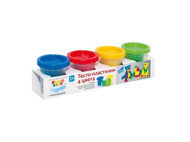 продам Набор для творчества GENIO KIDS Тесто-пластилин 4 цвета (TA1008) бу в Киеве
