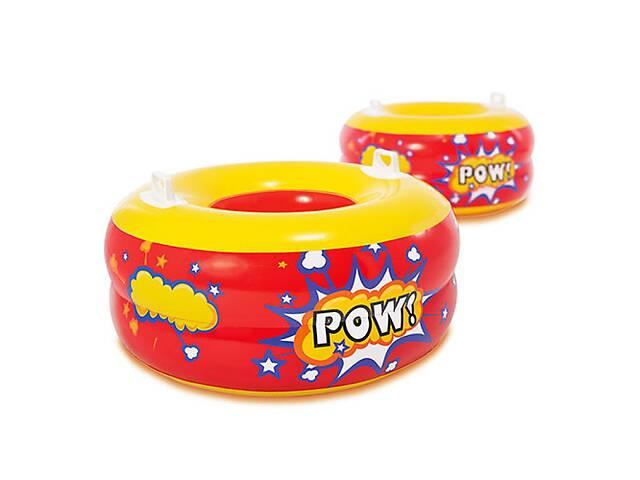 купить бу Надувная игрушкам круг-буфер Intex 44601 2 шт с ручками (44601_int) в Киеве