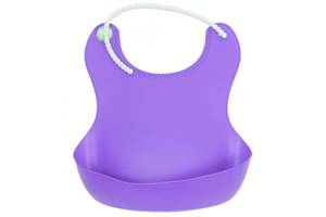Нагрудник с карманом (фиолетовый) Ф 938