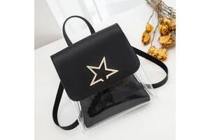Оригинальные силиконовые мини рюкзаки со звездой