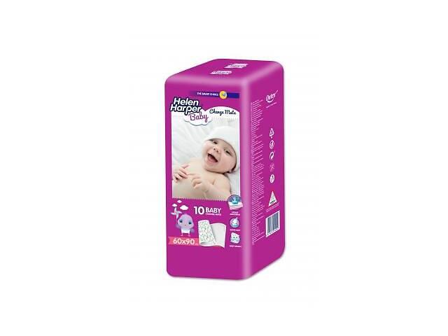 купить бу Пеленки для младенцев Helen Harper 60x90 см, 10 шт (5411416014515/5411416014522) в Харькове