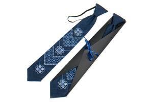 Підліткова вишита краватка №791