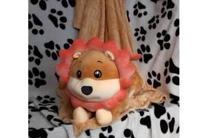 Плед с подушкой львенок