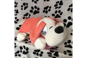 Плед и подушка-игрушка-пес