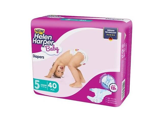 продам Подгузник Helen Harper Baby NEW Junior (11-25 kg), 40 шт. (5411416030713) бу в Харькове