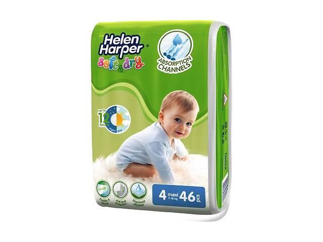 бу Подгузник Helen Harper Soft&Dry Maxi 7-18 кг 46 шт (5411416060130) в Харькове