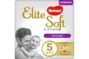 Подгузник Huggies Elite Soft Platinum Mega 5 (12-17 кг) 38 шт (5029053548838)