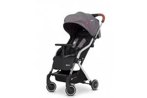 Прогулянкова дитяча коляска легка з алюмінієвою рамою Euro-Cart Spin, сірий