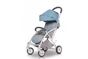 Прогулочная коляска детская EasyGo Minima Plus, голубая (9368)