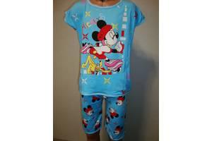 пижама для мальчика МИККИ  голубая