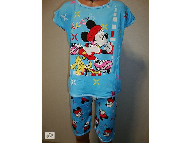 Пижама для мальчика Микки голубая- объявление о продаже  в Львове
