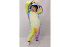 Пижама Кигуруми детский на молнии с капюшоном Бегемотик 38 р. рост 140-146 см (zolk_BL_KA442-1-38)