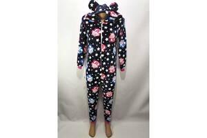 Пижама Кигуруми детский на молнии с капюшоном Sovushka 26 р. рост 92-98 см (zolk_2910-01-26)