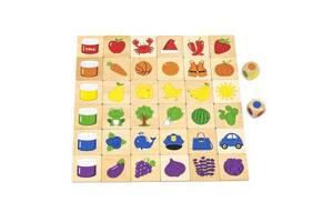 Развивающая игрушка Viga Toys Деревянный пазл-игра Изучаем цвета (44505)