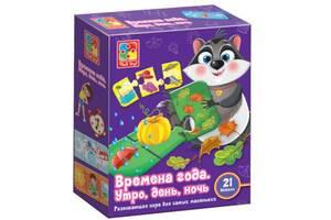 Развивающая игрушка Vladi Toys Времена года русский язык (VT5111-01)