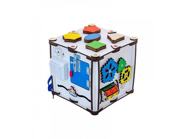 """купить бу Развивающий бизиборд GoodPlay """"Кубик развивающий"""" 22х22х23 с подсветкой на батарейках, разноцветный в Киеве"""