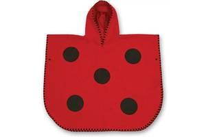 Рушник-пончо Little Life Animal M 60x70см ladybird (12510)
