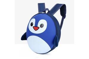 Рюкзак детский маленький Baby Bag пингвин Синий ( код: IBD003Z )