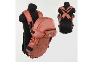 Рюкзак кенгуру, лежа, терракотовый, предназначен для детей с двухмесячного возраста SKL11-181651