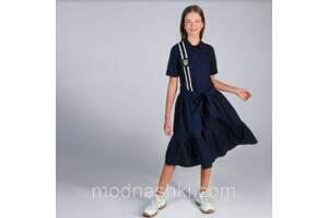 Школьное платье с оборками тм  МONE р-р 146,164 164