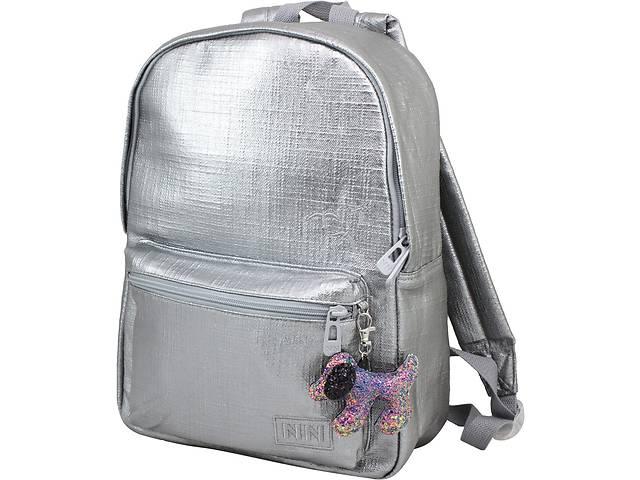 купить бу Школьный рюкзак Winner Stile тканевый серый на 15л в Киеве