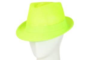 Шляпа Челентанка 12017-5 салатовый SKL11-249315