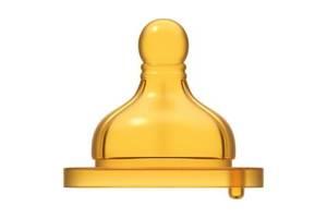 Соска Chicco Well-Being латексная для каш и смесей 6 мес+ 2 шт (20854.20)