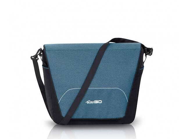 продам Сумка для коляски на одно плечо Easy Go Optimo 37 x 28 x 10 см., бирюзовая (8851) бу в Киеве
