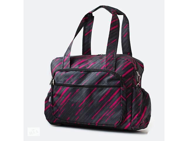 продам Сумка на коляску Baby Breeze 0348 из водоотталкивающей ткани цвет серо - розовый бу в Одессе