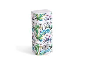 Термоупаковка для бутылочек с пенопласта Cebababy Flora & Fauna Jumbo Camaleon Blanco, белый/зеленый