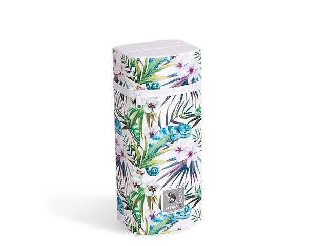 продам Термоупаковка для бутылочек с пенопласта Cebababy Flora & Fauna Jumbo Camaleon Blanco, белый/зеленый бу в Киеве