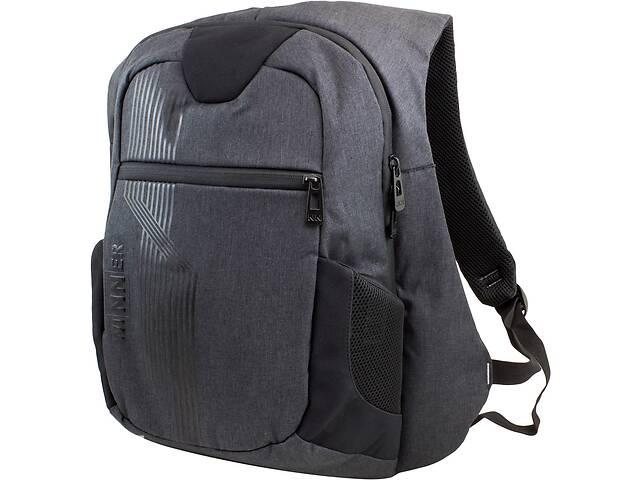 продам Тканевый рюкзак для школы Winner Stile черный на 21л бу в Киеве
