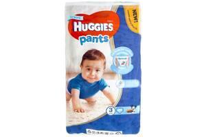 Трусики-подгузники Huggies для мальчиков 3 (6-11 кг), 44 шт