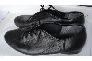 """Туфли танцевальные """"Стандарт"""",кожа, размер 25 см по стельке"""