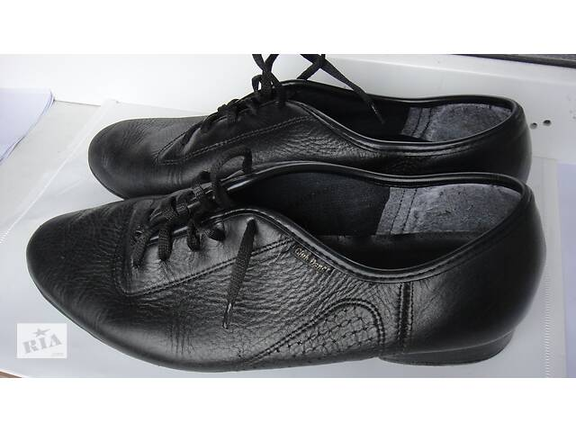 """Туфли танцевальные """"Стандарт"""",кожа, размер 25 см по стельке- объявление о продаже  в Сватово"""