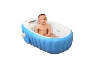 Ванночка детская надувная Intime Baby Bath Tub синяя SKL11-237086