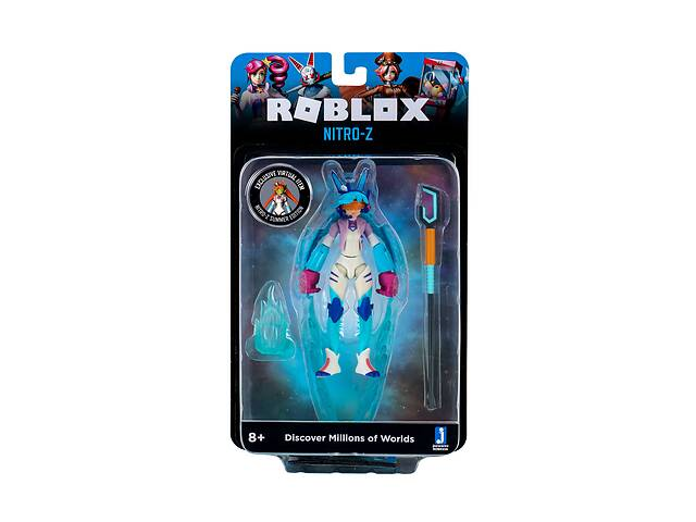 продам Роблокс игровой набор с фигуркой Nitr0-Z W8 Jazwares Roblox Imagination Figure Pack (ROB0356) бу в Киеве