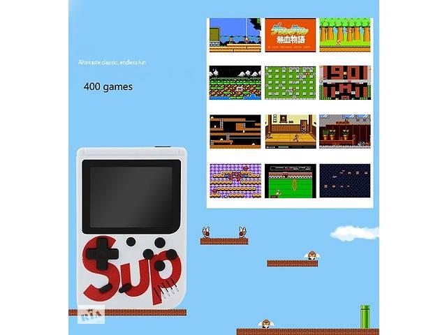 Игровая приставка /400 игр/Sup game box /джойстик, 4 цвета