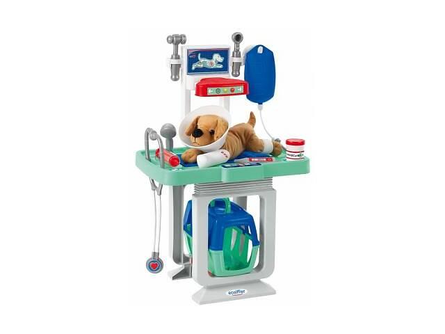бу Игровой набор Ecoiffier Ветеринарный центр со столом и переноской для щенка (001908) в Харькове
