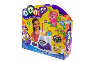 Интерактивный детский набор конструктор для творчества Kronos Toys из надувных воздушных шариков OONIES Inflator с на...