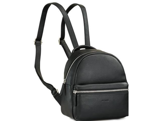 продам Женский кожаный рюкзак Picard Luis черный 4 л бу в Киеве