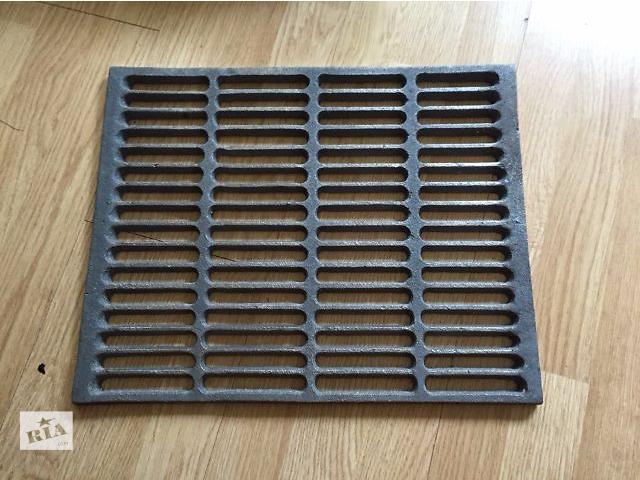 продам Чугунная решетка гриль для барбекю и мангала. Размеры 43 см х 34.3 см. бу в Киеве