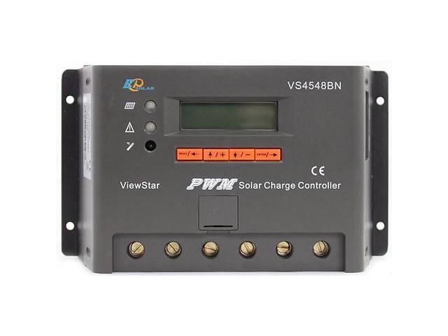 бу Контроллер, ШИМ 45А 12/24/36/48В  с дисплеем VS4548BN EPsolar (EPEVER) в Львове