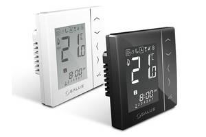 Salus VS10BRF - терморегулятор бездротової, чорний