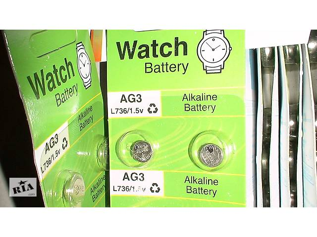 Батарейка GP AG3, LR41, 192 1 (192-U10)AG3 LR736 LR41 392A 192 SR41- объявление о продаже  в Виннице