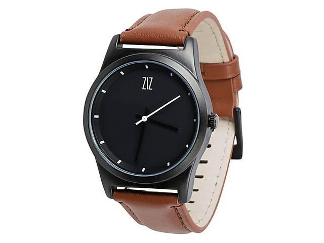 купить бу Часы Ziz Black в подарочной коробке на кожаном ремешке и доп. ремешок - R142756  в Україні
