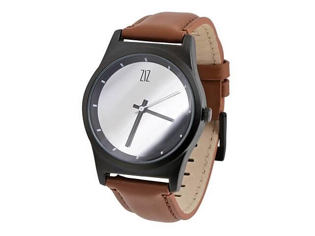бу Часы Ziz Mirror в подарочной коробке на кожаном ремешке и доп. ремешок - R142766  в Україні